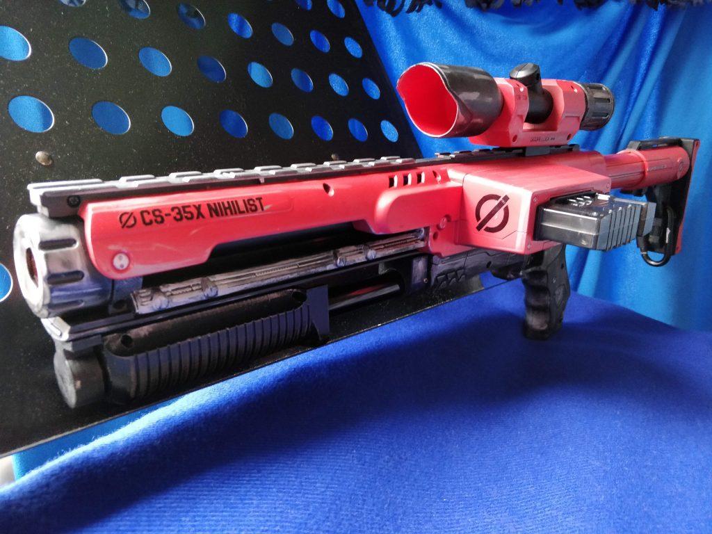 Nerf Raider dart blaster decals